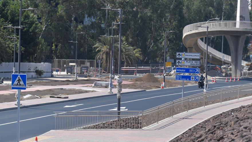 La obra de la vía entre San Agustín y El Veril estará lista a mediados de noviembre