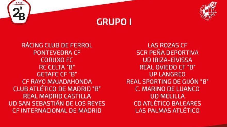 Las Palmas Atlético ya conoce a sus rivales del Grupo I