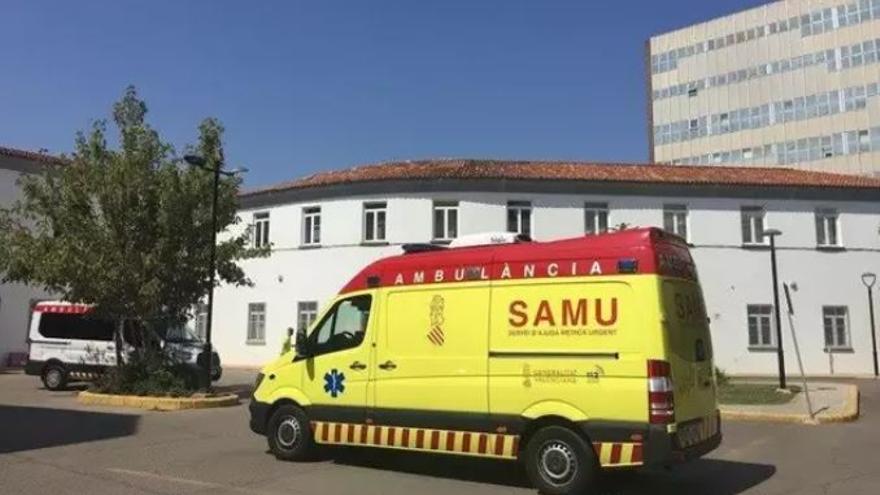 Un hombre resulta herido tras volcar con su camión en Segorbe