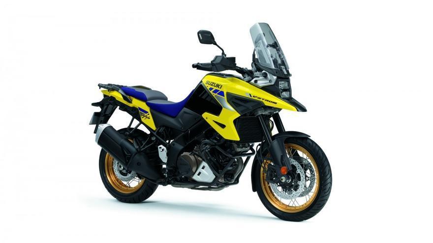 La Suzuki V-Strom 1050 XT estrena nuevos colores