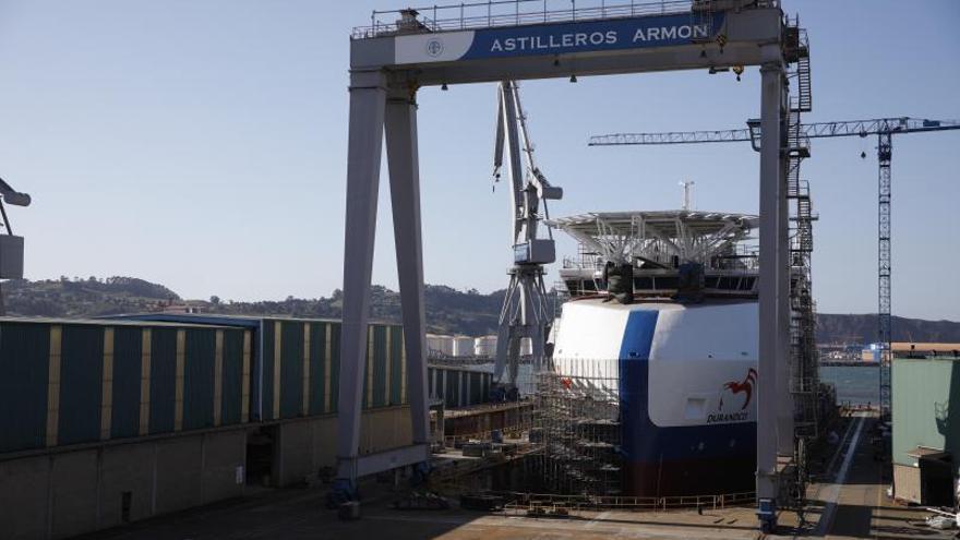 El plan para modernizar el naval, en la rampa de los fondos de la UE
