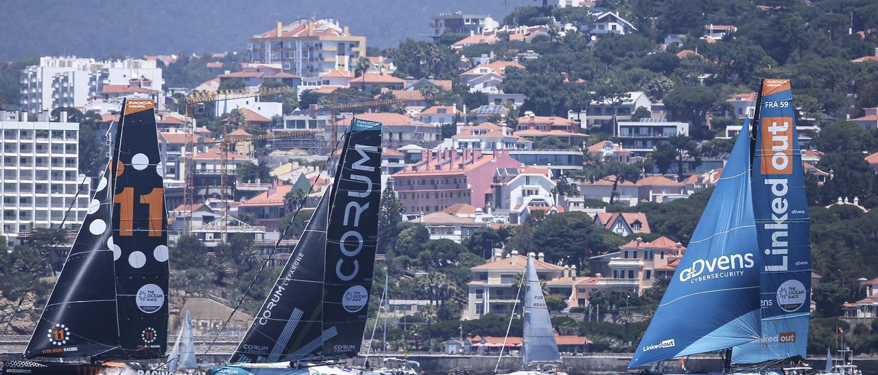The Ocean Race Europe sale de Cascais y pone rumbo a Alicante