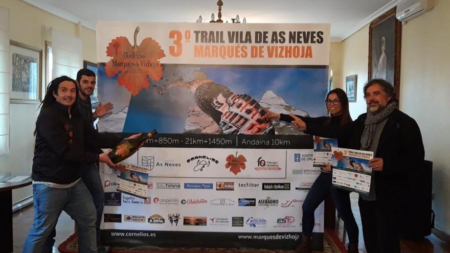 El Trail Vila das Neves espera alcanzar los 250 inscritos