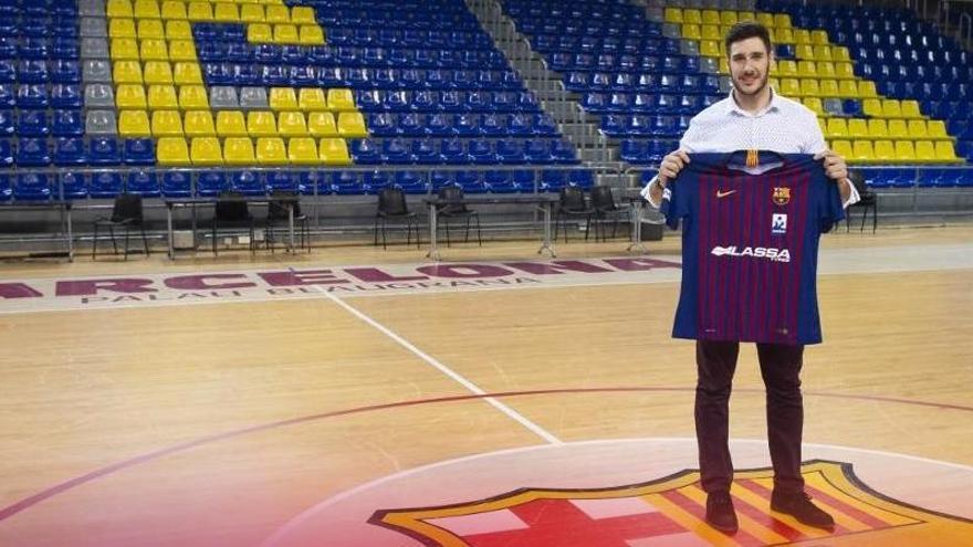 El asturiano Abel Serdio ficha por el Barcelona de balonmano