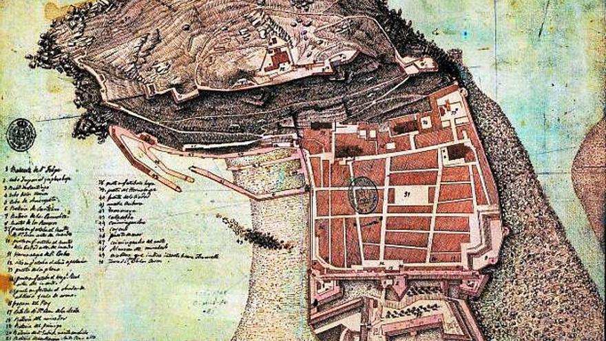 Los viajes de Jovellanos (XXVI): Las murallas de San Sebastián