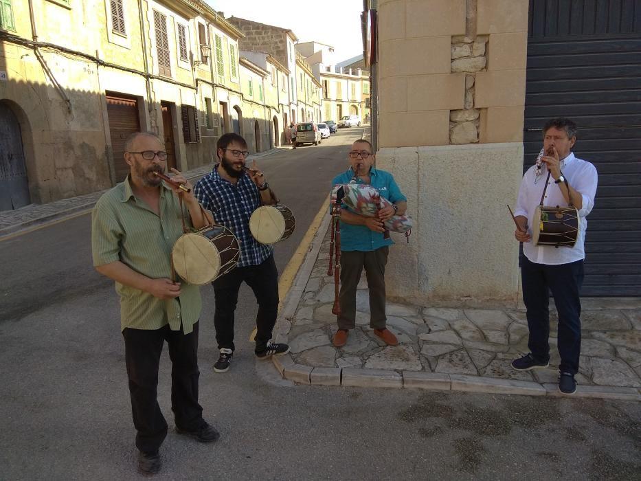 Cossiers sin público en honor a Sant Bartomeu