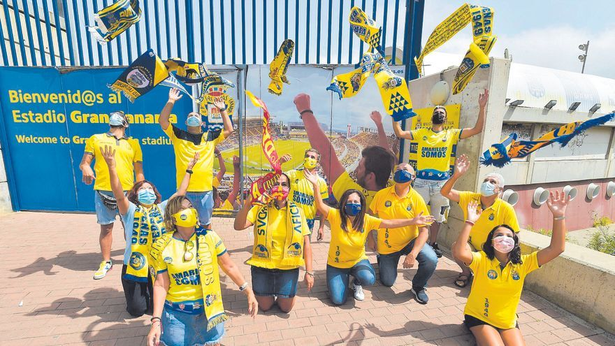 La parroquia amarilla regresa a casa a medio gas
