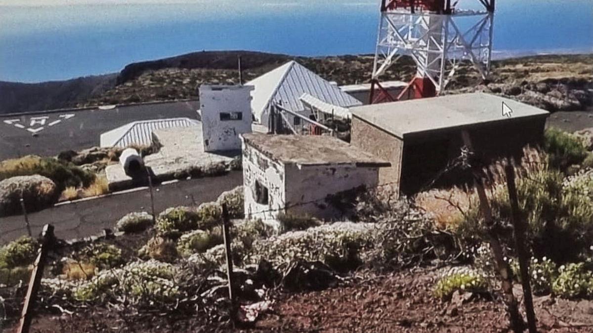 Instalaciones del Ministerio de Defensa en Izaña.