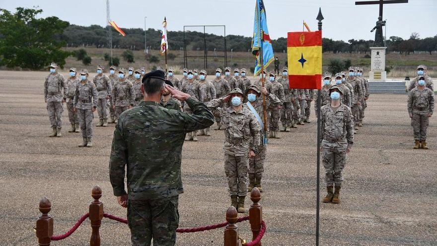 Tranquilidad entre los militares extremeños tras el golpe de estado en Mali