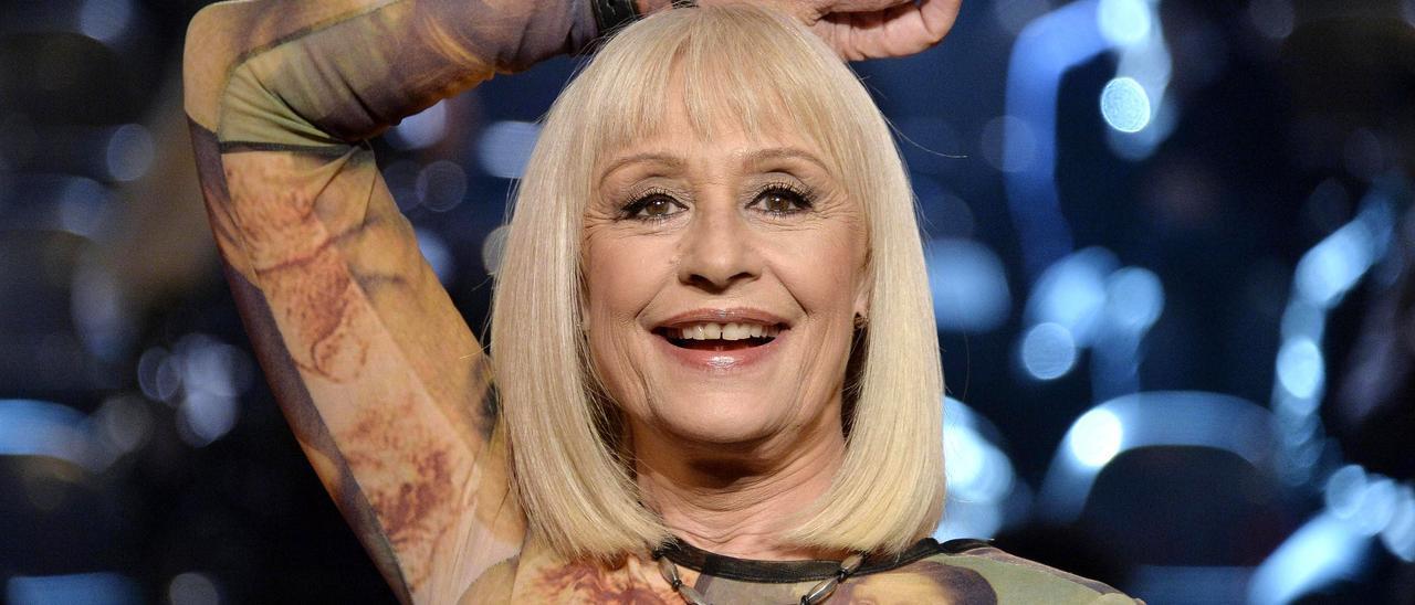 Rafaella Carrà, durante una actuación.