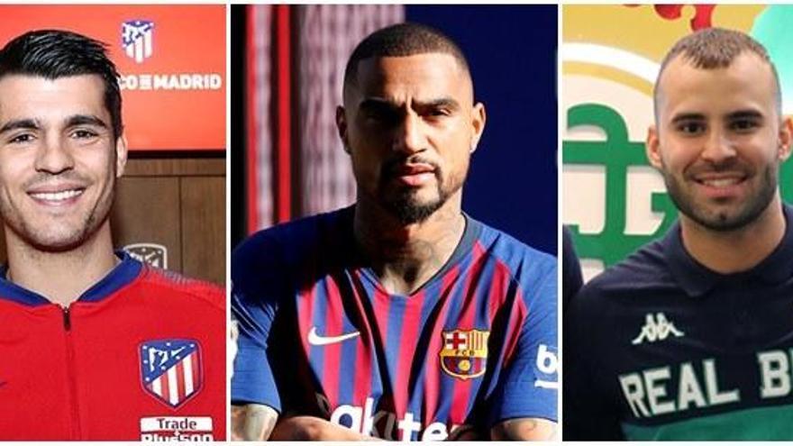 Morata, Boateng y Jesé, los fichajes de invierno más destacados en LaLiga