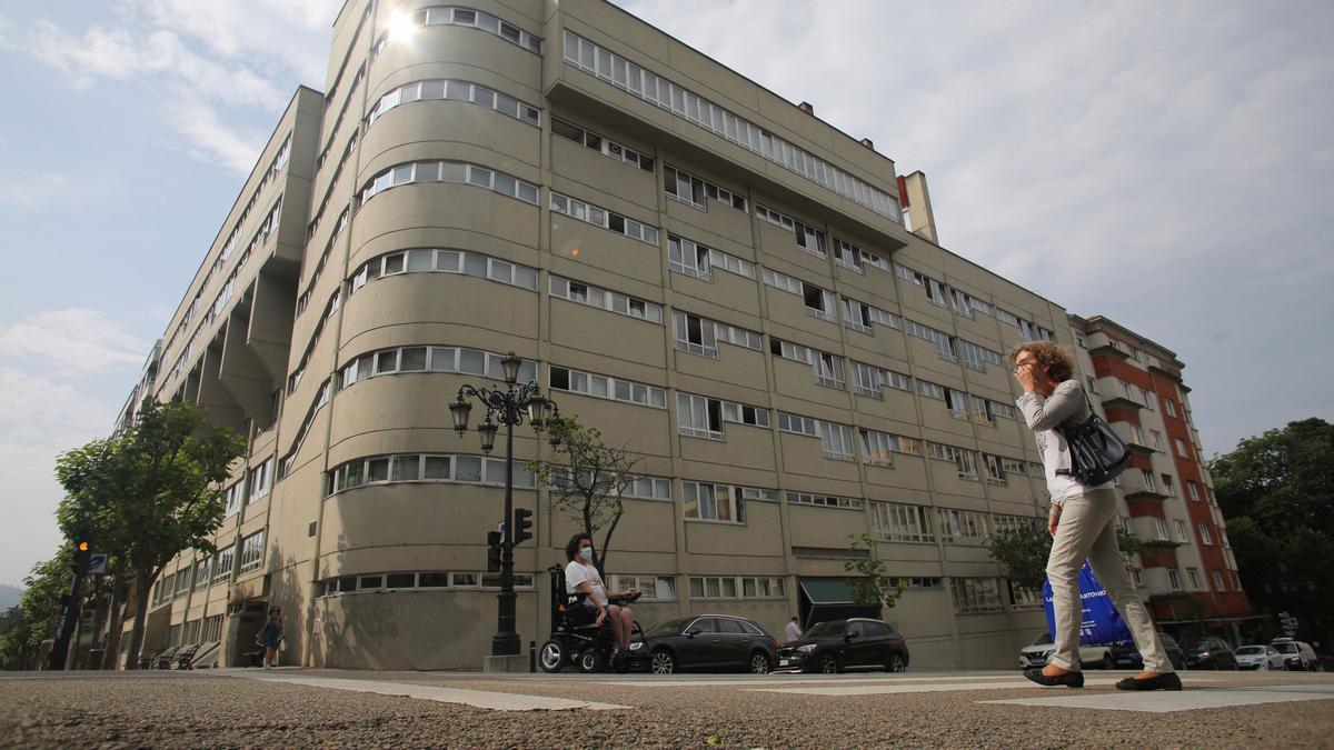 Una de las grandes residencias de ancianos de Asturias.