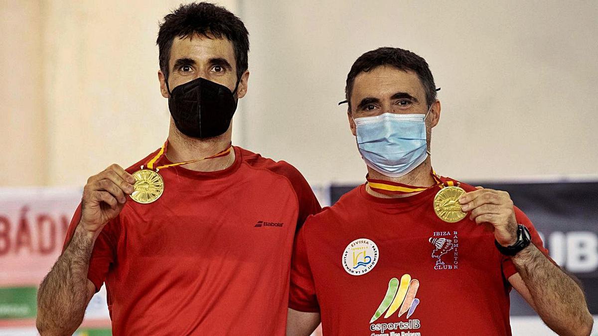 Pablo y Javier Abián, campeones de España de dobles masculino.