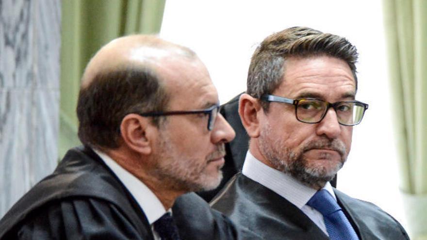 El juez Salvador Alba, condenado a seis años y medio de prisión