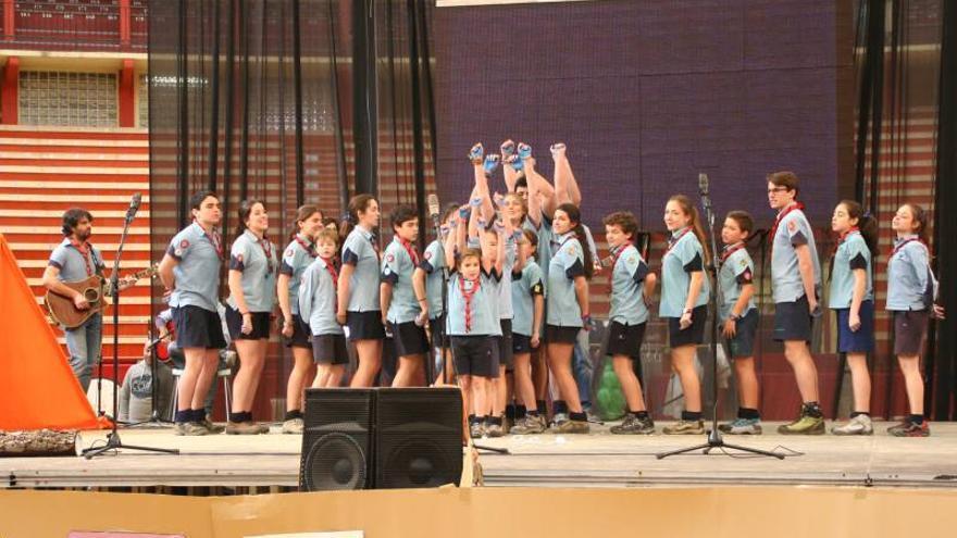 El grupo Santa María 27 gana el Festival de la canción scout