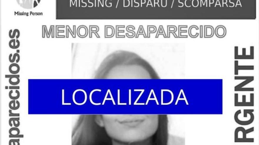 Localizada la menor desaparecida en Tenerife desde el jueves