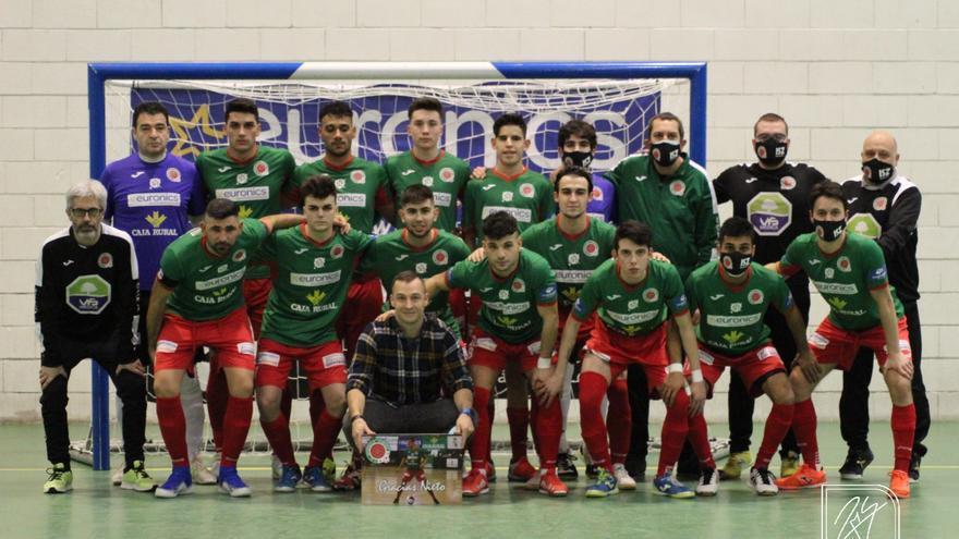 El InterSala Zamora abre las gradas a sus socios en su primer partido con público de la temporada
