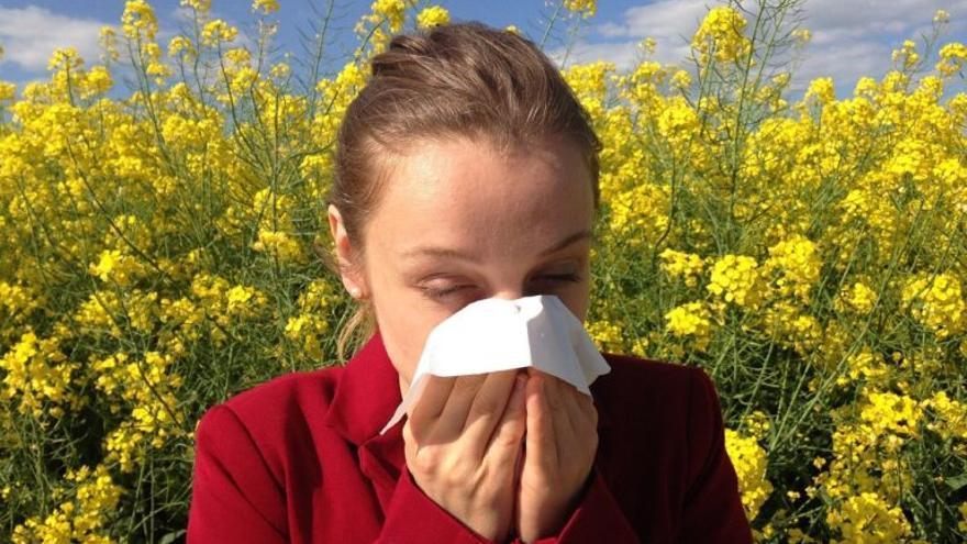 Las alergias se adelantan debido al cambio climático