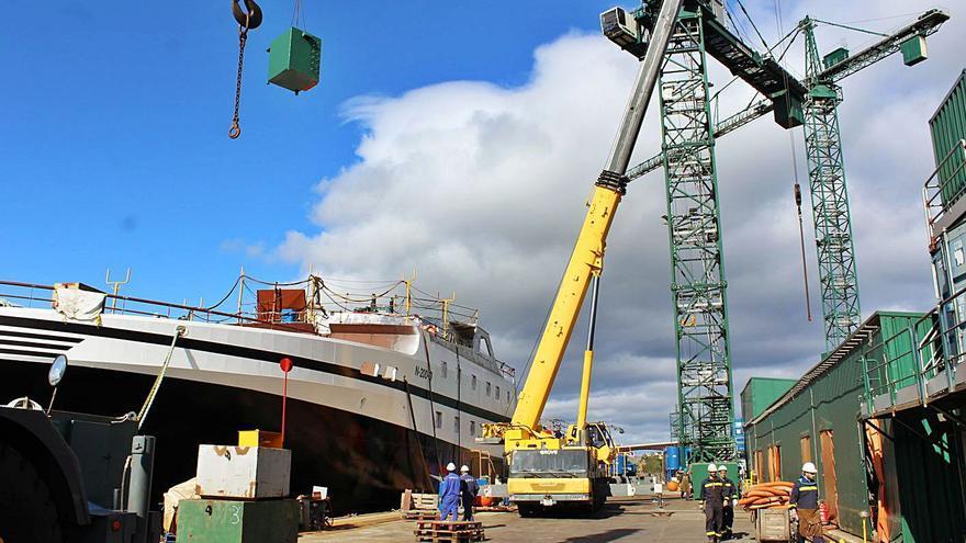 Los astilleros asturianos pescan más de la mitad de los nuevos contratos de barcos en España