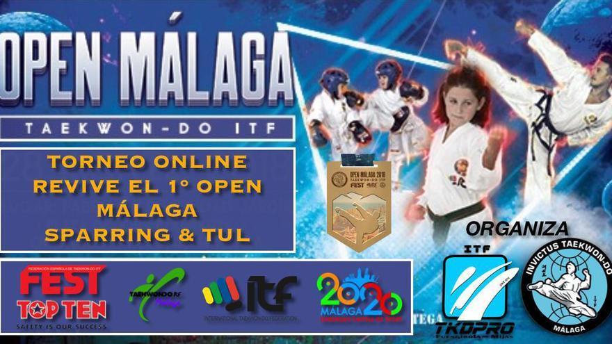 El Open de Málaga de Taekwondo ITF tendrá su versión online