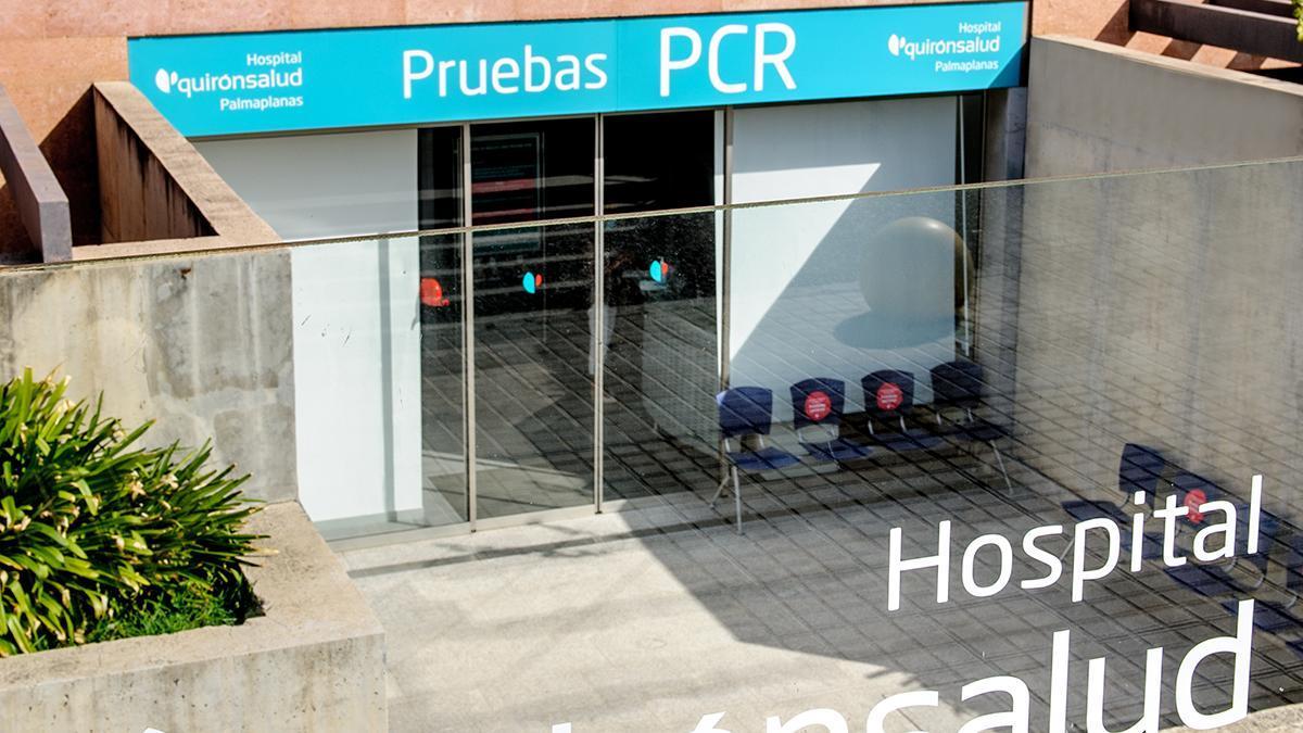 Espacio PCR del Hospital Quirónsalud Palmaplanas.