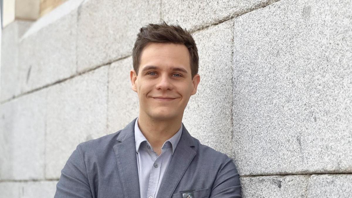 Christian Gálvez en una imagen de archivo.