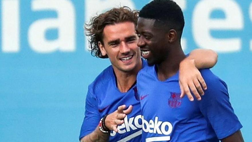 Dembélé entra en la lista del Barça para medirse al Bayern