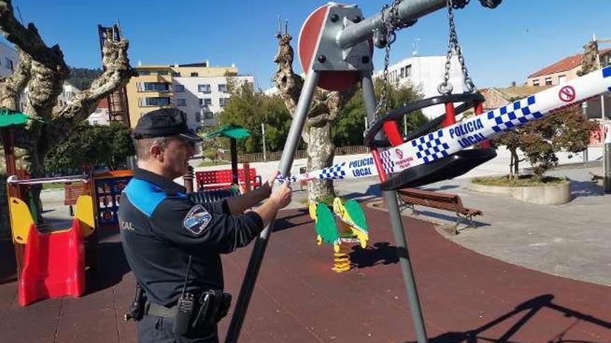 La policía interviene y cierra locales abiertos