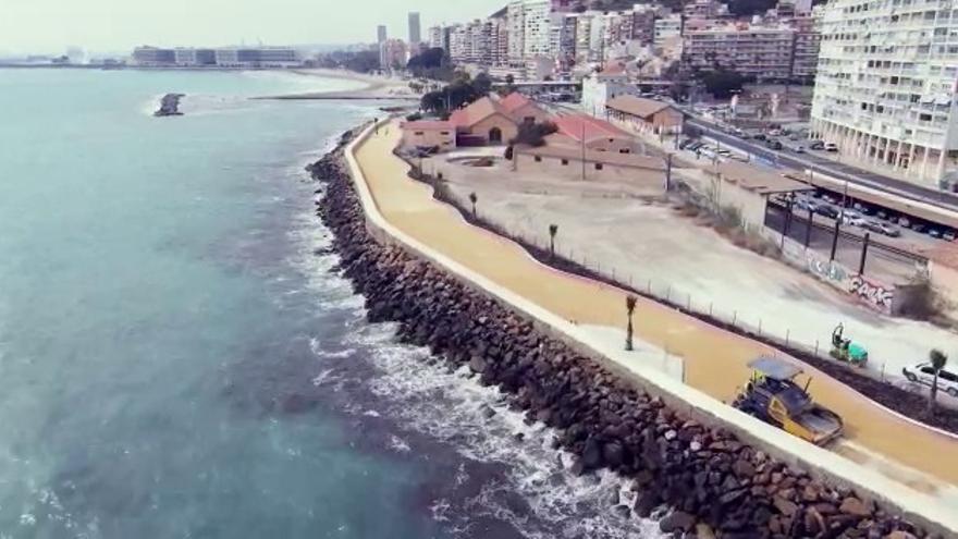 El Consell abre al público la remodelación del paseo de Gómiz entre el Cocó y el Tiro de Pichón en Alicante