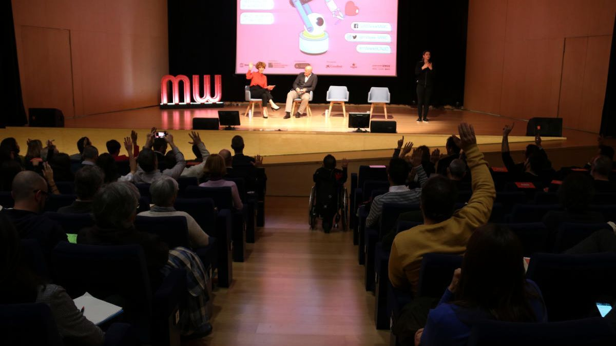 La sessió inaugural de la Mobile World Week Barcelona 2020.