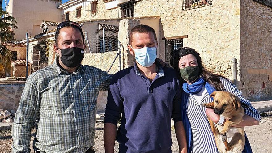 Solicitan el Mérito Civil para los «héroes» del incendio de Pinoso
