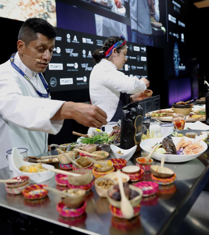 La cocina milenaria colombiana sorprende en Madrid Fusión