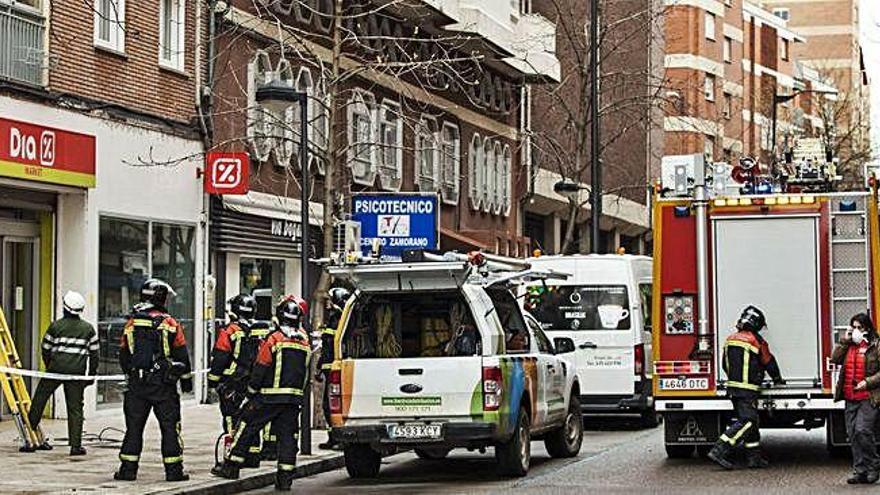 Los bomberos intervienen en el Día de Príncipe de Asturias