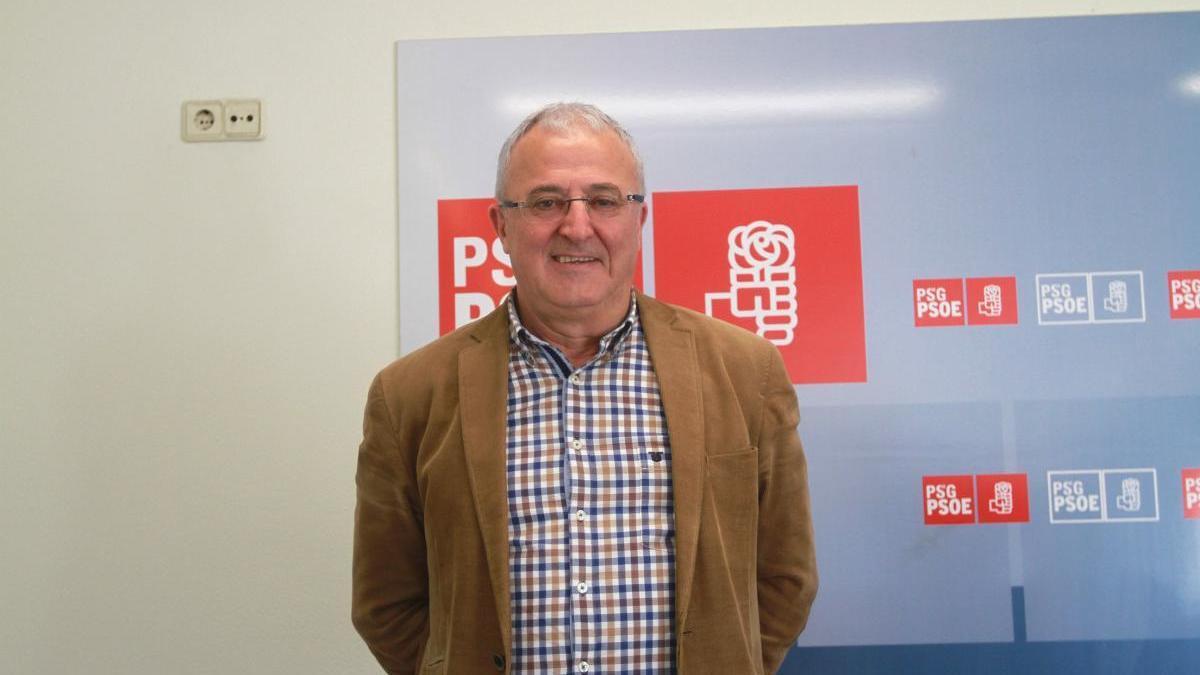 El hasta hoy alcalde de Laza, Jesús Blanco / Iñaki Osorio