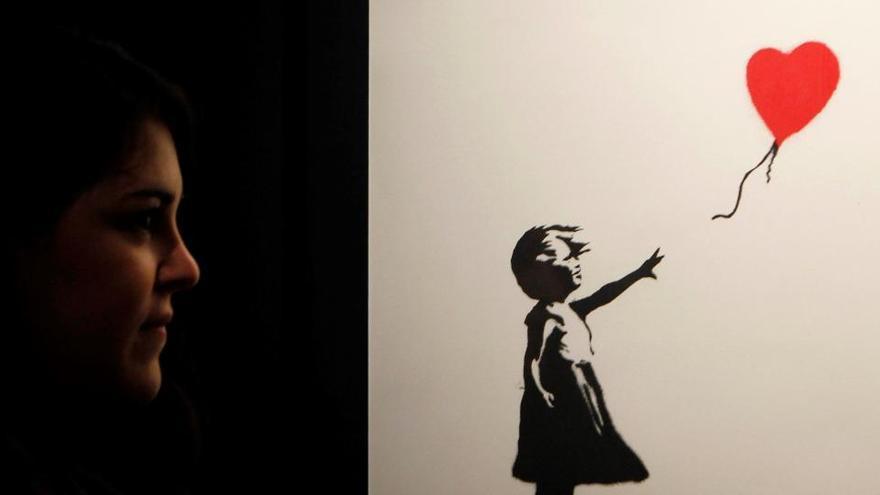Una exposición de Banksy, protagonista en el Círculo de Bellas Artes de Madrid