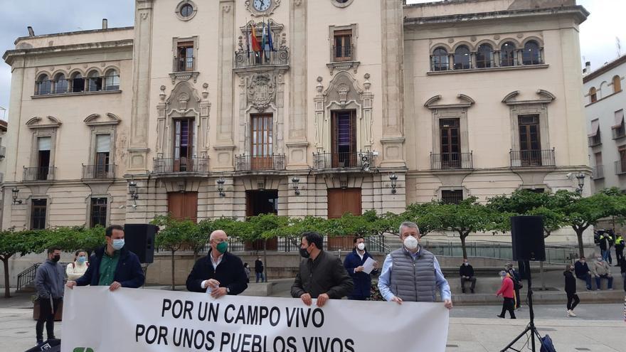 Varias tractoradas piden en Jaén una convergencia suave a la PAC