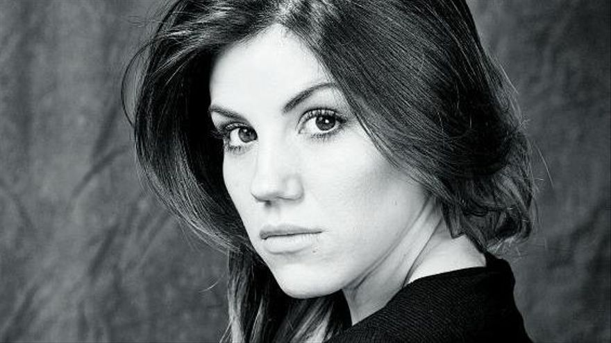 La actriz mallorquina Angy Fernández.    // A. F.