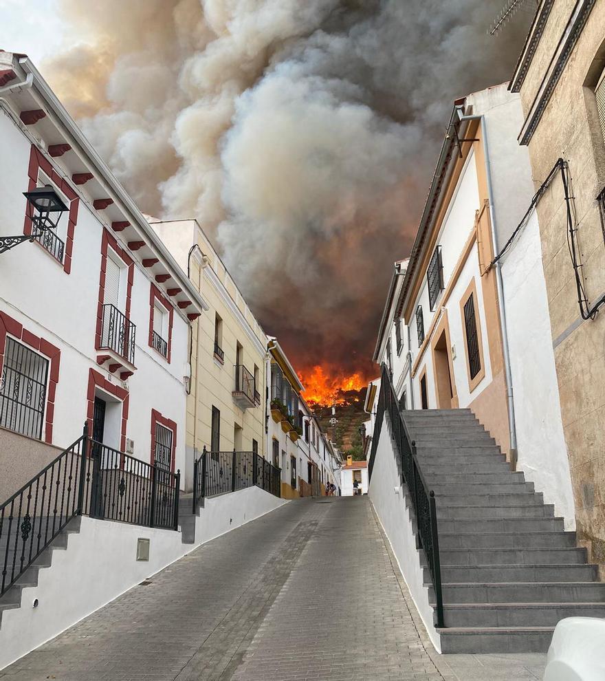 Instantánea del incendio de  Rocío Soler