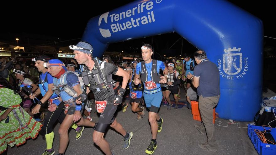 La Tenerife Bluetrail 2021 estrenará una carrera vertical nocturna de 3,1 km