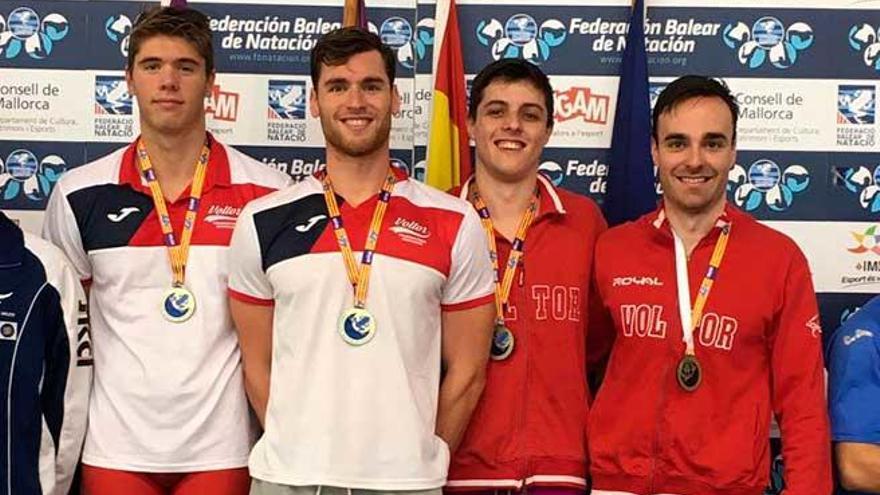 Marc Sánchez bate el récord de Balears de los 100 espalda en Son Hugo