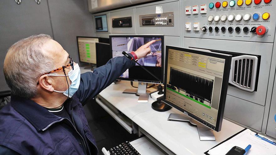 Aduanas escanea más de 300 contenedores del puerto al mes en busca de contrabando