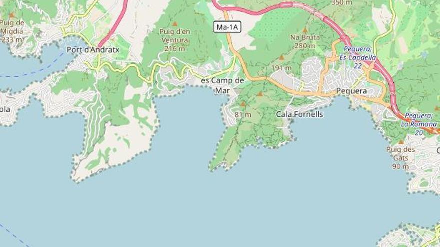 82-Jähriger stirbt nach Badeunfall am Strand von Camp de Mar