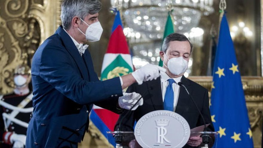 Mario Draghi acepta el encargo de formar Gobierno