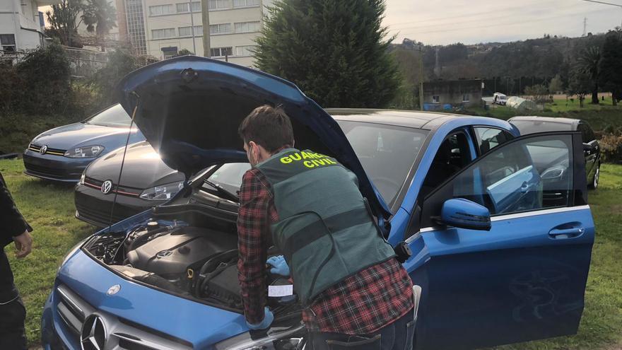 Dos detenidos en Betanzos por tráfico de vehículos de alta gama