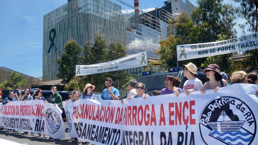 Defensa da Ría celebra su marcha anual contra Ence