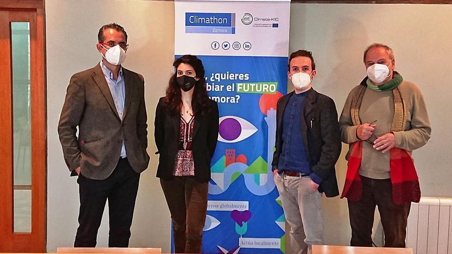 """Zamora lucha contra el cambio climático en el foro """"Climathon 2020"""""""