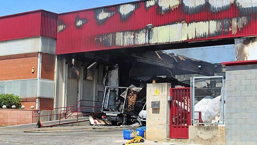 L'incendi de Sant Vicenç va afectar el cor de producció de l'empresa Bo de Debò