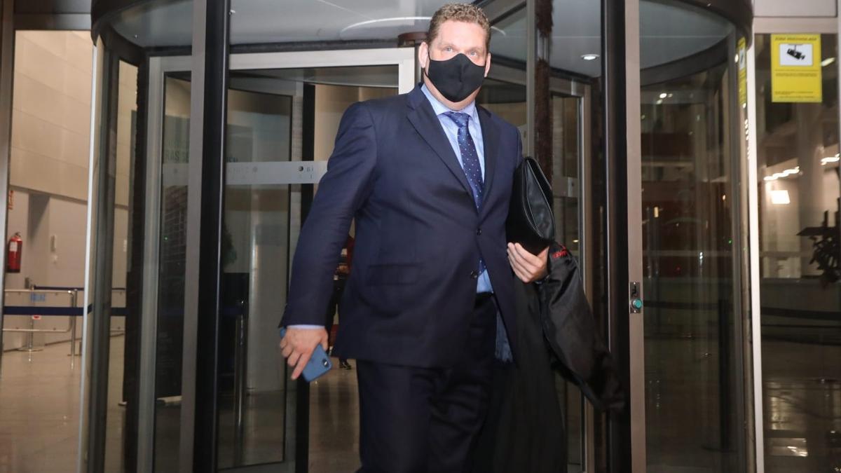 Miguel Ferrer, acusación particular en representación de la familia de Antonio Navarro