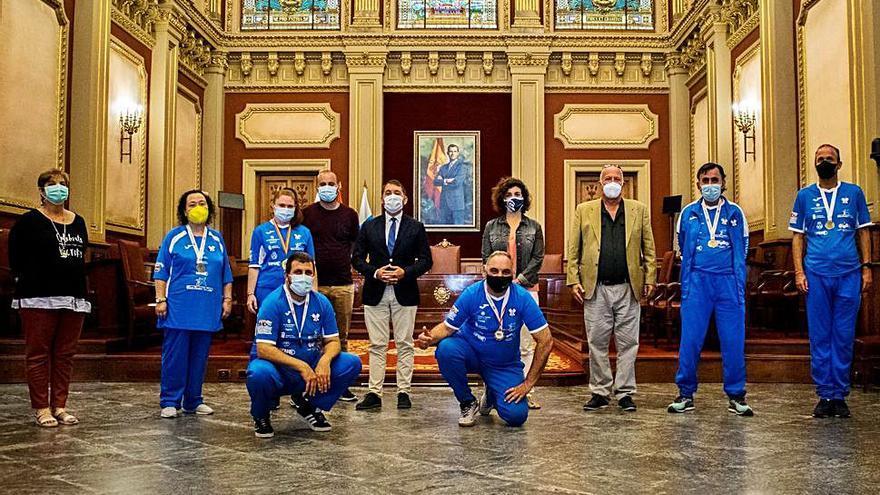 El Ayuntamiento de Santa Cruz valora los éxitos del Dispacint FS