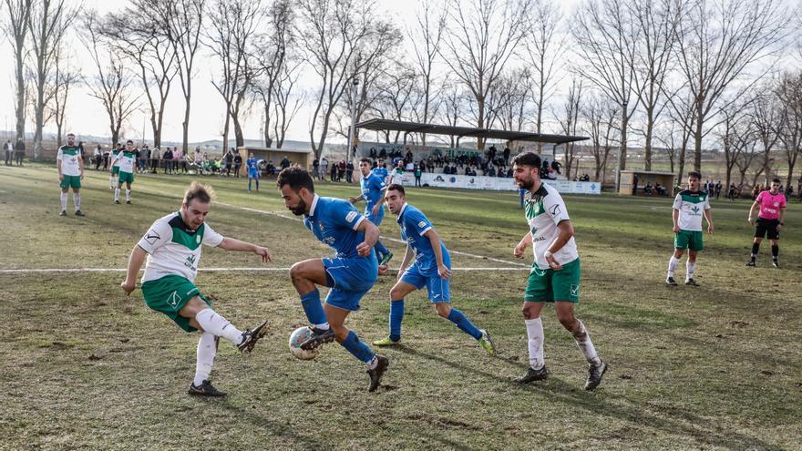 Competición da por concluido el Coreses - Villaralbo con resultado de 1-1